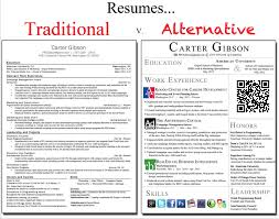 Traditional Vs Creative Resume