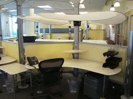 cubicle lighting. image of cubicle shield from fluorescent lights lighting