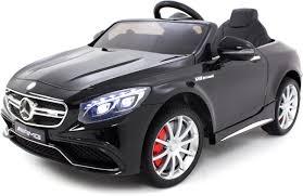 Mercedes Kinderauto S Klasse 63 Amg Zwart