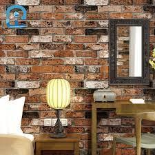 Red Brick Wallpaper Roll Wall Paper ...