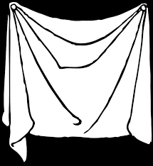 hanging sheet cover draped hanging free vector graphic on pixabay