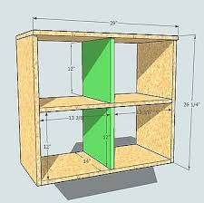 how to build cubbies