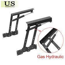 1 of 9free lift up top coffee table lifting frame mechanism gas hydraulic pneumatic hinge