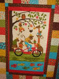 Quilt Patterns Throw or crib size Simply Charming Panel & Like this item? Adamdwight.com