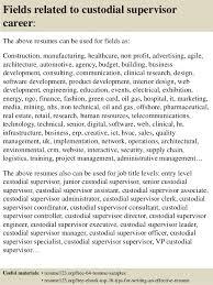 16 Fields Related To Custodial Supervisor