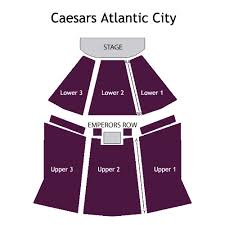 Caesars Atlantic City Venue Seating Chart Caesars Atlantic City Show Seating Chart Caesars Atlantic