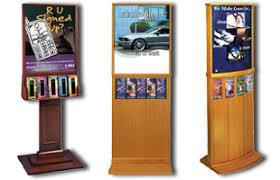 Flyer Display Stands Brochure Stands Pamphlet Holder Racks Dispensers 12