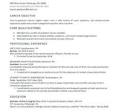 Student Resumes Template Graduate Student Resume Template Mobile Application