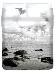 beach scene duvet covers beach scene duvet cover uk beach duvet cover featuring the photograph black