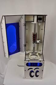 droplit sub 600 dlp 3d printer kit made by seemecnc