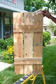 Make Your Own Shutters Easy Diy Ideas Make Your Own Shutters O Caruth Studio