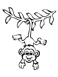 Small Picture Monkey coloring pages Download and print Monkey coloring pages