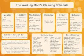 monthly house cleaning schedule template domestic cleaning schedule template gallery template design ideas