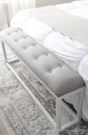 Bench, Best End Of Bed Bench Ideas Fabric For Bedroom: fabric bench for  bedroom
