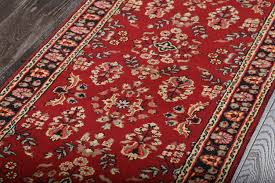 rugsville beautiful afghan suzani kilim ruby red runner rug 60x243