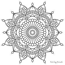 Small Picture 106 Printable Intricate Mandala Coloring Pages by KrishTheBrand