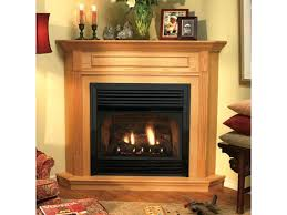 propane gas fireplace logs with remote vent free corner gas fireplace savannah oak 18 in vent propane gas fireplace logs