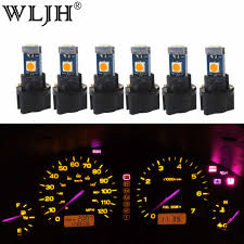 Toyota Corolla 2019 Dashboard Warning Lights Wljh 6x T5 Led Light Pc74 Lamp 12v Car Replacement Dashboard
