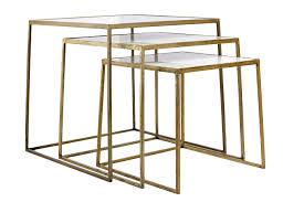 Nesting Tables Soni Marble Nesting Tables Mecox Gardens