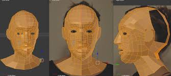 Resultado de imagen de En esta aproximación muestra la prueba de texturizado del modelo 3D finalmente seleccionado. El personaje que aparece a la par, es la persona real. y la que aparece sin pelo es el modelo 3d renderizado. No siempre la realidad está clara ante nuestra vista.
