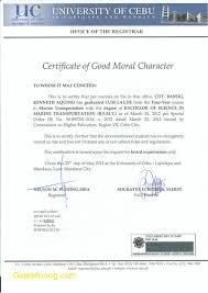 17 Good Moral Character Certificate Sample Steamtraaleren Borgenes