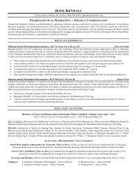 Sample Pharmaceutical Sales Resume Best Professional Resumes