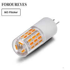 no flicker g4 led lamp 12v 3w 45leds smd4014 lamp 360 beam angle led bulb replace 30w halogen crystal light chandelier e17 led bulb led fog light bulbs from