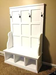 Storage Bench Seat With Coat Rack Entryway Coat Rack And Storage Bench Entryway Coat Storage Entryway 61