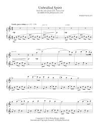philip wesley sheet music unbridled spirit transcend sheet music philip wesley