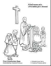 Lovely Free Catholic Coloring Pages For Mass Coloring Pages Free