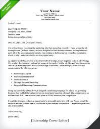 How To Write A Resume For Internship Noxdefense Com