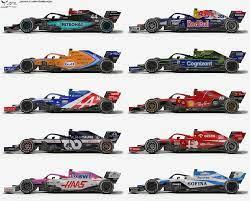 F1 2021 livery concepts: formula1