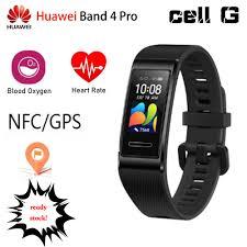 Đồng Hồ Thông Minh Huawei Band 4 Pro Nfc Gps 0.95 Chống Nước Đa Năng Kèm  Phụ Kiện
