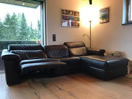 Luxuriöse Couch Wohnlandschaft Leder Braun In 5020 Salzburg