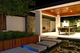 covered patio lights. Image By: Tim Davies Landscaping Covered Patio Lights