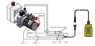 dump trailer hydraulic pump wiring diagram luxury installing a Light Switch Wiring Diagram bed � how to wire dc hydraulic power pack unit dump trailer remote wiring