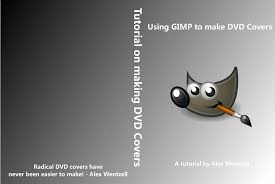 Making A Cd Case Making A Dvd Cover Using Gimp 5 Steps