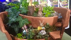 how to build a fairy garden outdoor diy
