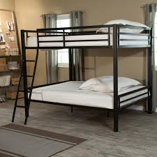loft queen on bottom bunk with futon ikea beds canada single top bedding design bed white