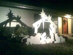 outdoor manger scene wood nativity wooden set works of cedar springs scenes o outdoor manger scene