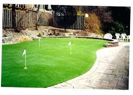 diy backyard putting green innovative ideas backyard putting green kits ravishing backyard