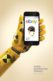 ebay when inspiration strikes shop our app advertising