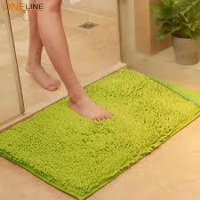 oneline non slip microfiber carpet doormat