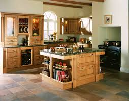awesome kitchen island design feature small wooden features rack with many and dark colour granite countertop
