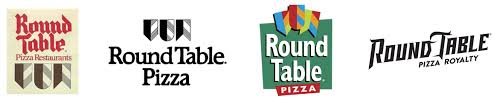 round table pizza logo evolution 1959 2019