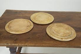 antique cutting boards round wooden bread boards a vintage antique cutting board table