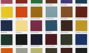 Duplicolor Perfect Match Color Chart 79 Unfolded Ppg Auto Paint Chart