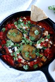 Vegan Eggplant Shakshuka Dels Cooking Twist