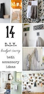 Inexpensive Bathroom Decor Throw In The Towel Low Budget Diy Bathroom Ideas Heathered