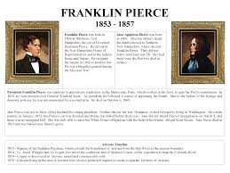 1853 - 1857 President Franklin Pierce and First Lady Jane Appleton Pierce -  Mohave Museum - U.S. Presidents and the History of Arizona - Arizona Memory  Project